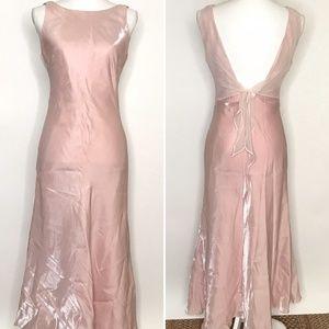 Vintage Susan Roselli ViJack Pink Shimmer Dress